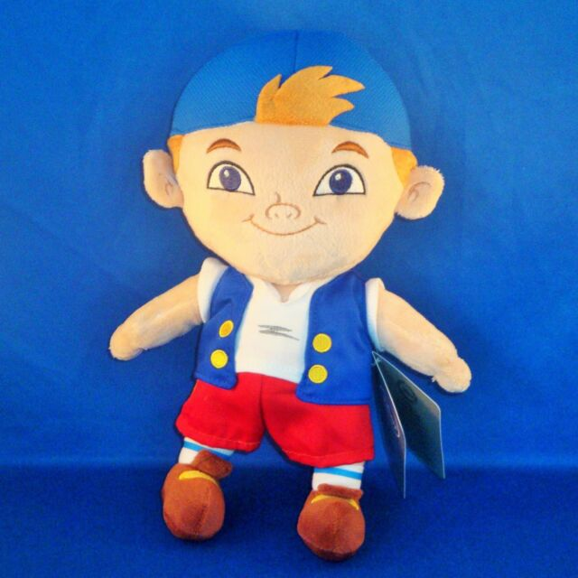 Disney Store - Jake & the Neverland Pirates - Cubby Plush Doll - Stuffed Animal