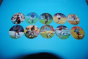 448 Pogs Pog Caps Milkcaps Flippo : Lot De 10 Football Technik Activation De La Circulation Sanguine Et Renforcement Des Nerfs Et Des Os