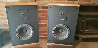 advent legacy ii speakers newly refoamed ebay. Black Bedroom Furniture Sets. Home Design Ideas