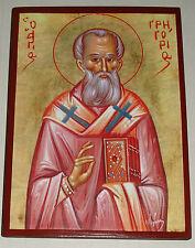Ikone Heilige Gregor Grzegorz St.Grigori Icone icono Icon icoon Ikona Gregorio