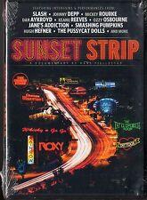 Sunset Strip (DVD, 2014) Slash, Johnny Depp, Ozzy osbourne, Dan Aykroyd