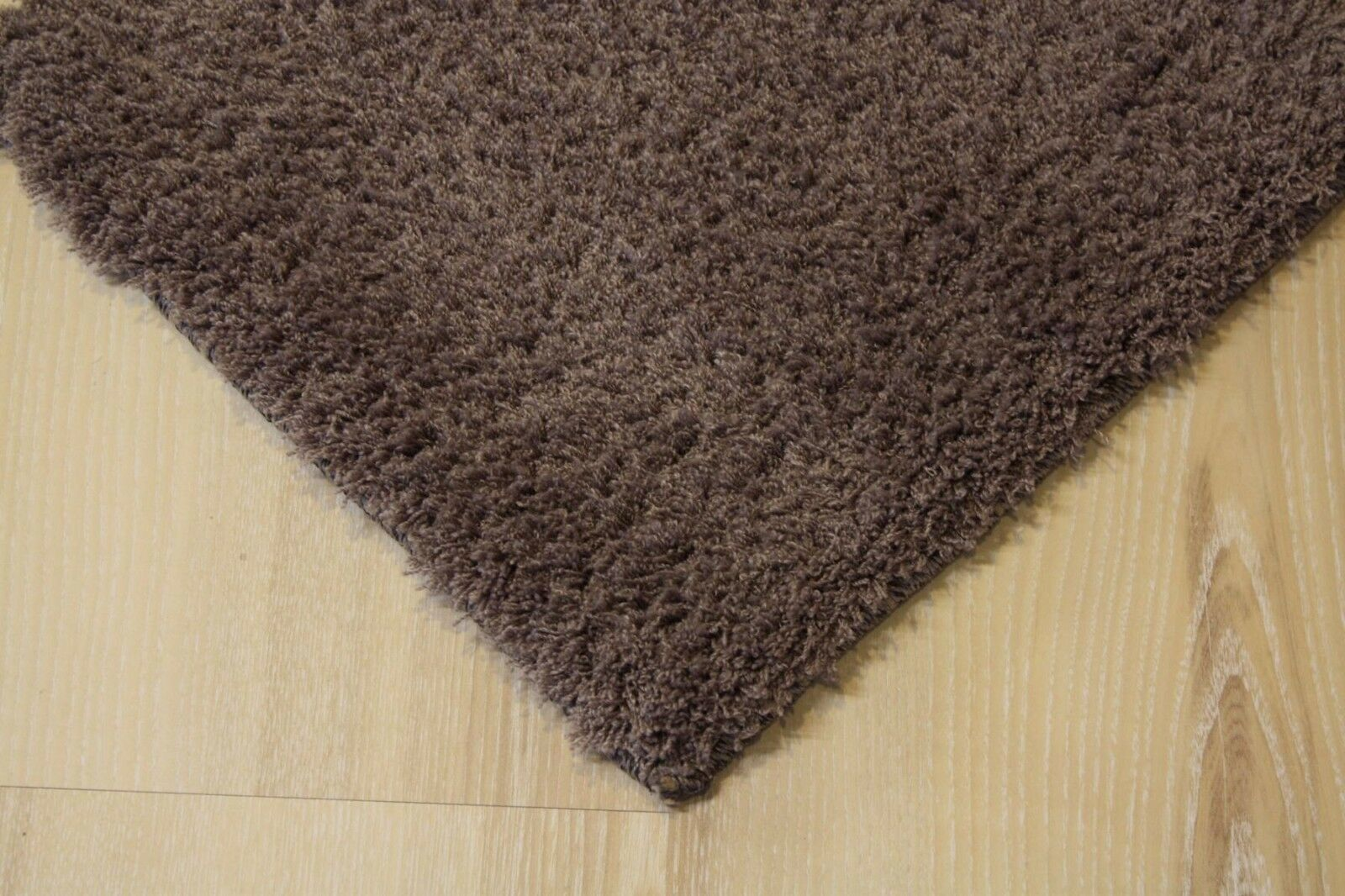 Tapis soft Dream 25 mm Langflor 680 Marron 200x200 cm doux