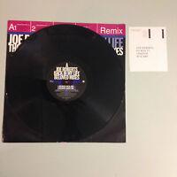 "Joe Roberts Back In My Life The Beloved Sweet Mercy Remixes 12"" vinyl single."