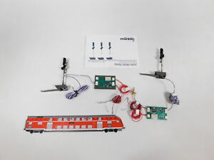 CT304-0,5# 2x Märklin digital mfx H0 76497 Lichthauptsignal/Lichtsignal