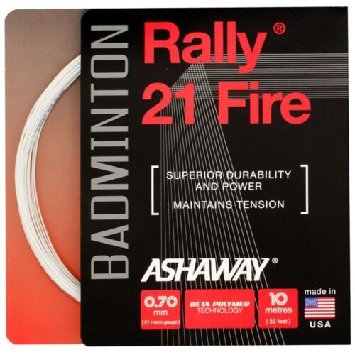 Ashaway Rally 21 Fire Badminton String