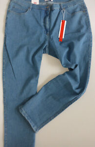 Sheego-Ladies-Jeans-Trousers-Stretch-Die-Narrow-Size-40-to-58-834-Blue