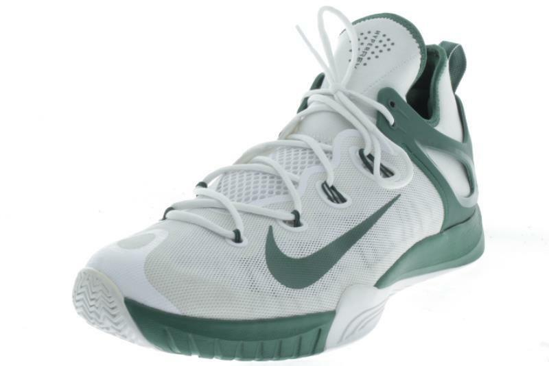 Mens Large Size  Nike HyperREV White Green Athletic Shoes 17 M..196A