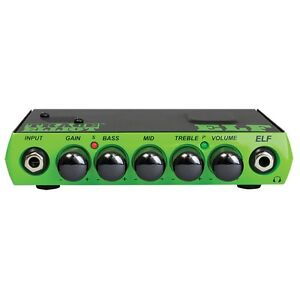 Trace-Elliot-ELF-200W-Micro-Solid-State-1-Ch-Bass-Guitar-Amp-Head-w-3-Band-EQ