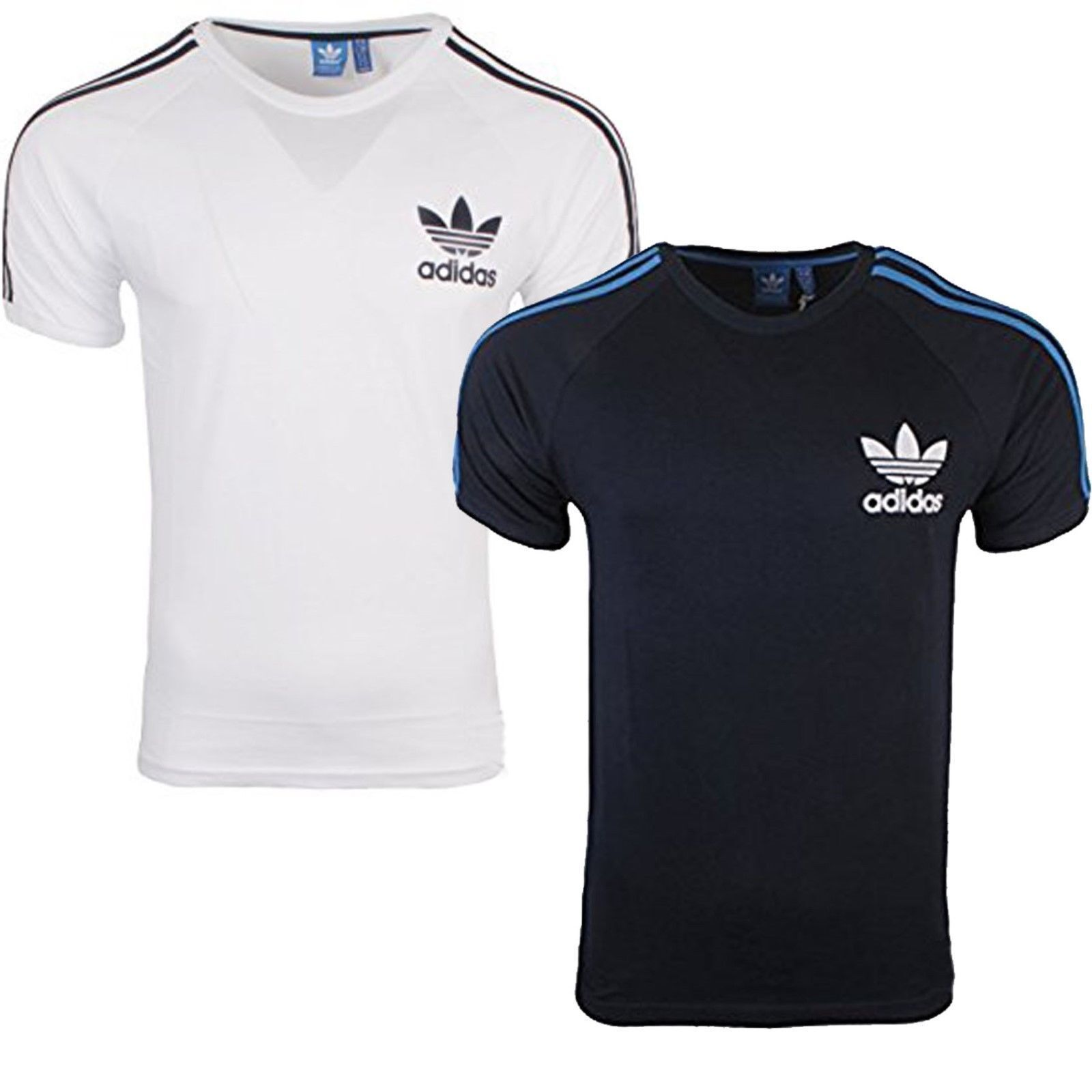 Adidas Originals Mens California Rövid ujjú póló Crew Neck Tee Gym Top Új