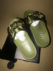 Bow Puma Taille 5 By Fenty Slhan Olive Glisser 3 35 Uk Eur Sliders 8kNnw0OXP