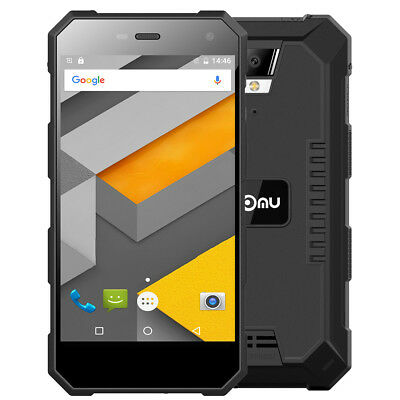 "5.0"" Waterproof Nomu S10 Android 6.0 4G Smartphone Quad Core 2G/16G Hotspot HiFi"