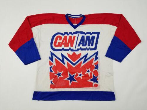 CAN AM Hockey Camp Jersey Men's XL USA Made Mesh C