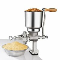 Premium Quality Cast Iron Corn Grinder Wheat Grain Nut Mill Home Kitchen Bar