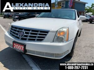 2007 Cadillac DTS LEATHER/clean/safety included