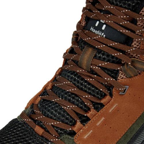 Haglofs Homme Skuta Mid preuve Eco Walking Boots Brown Sports Extérieur Imperméable