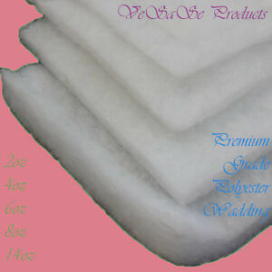 Wadding Polyester Quilting Batting Upholstery Padding 60