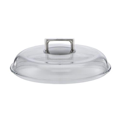 RÖSLE Serie SILENCE Glasdeckel Borosilikat 32 cm