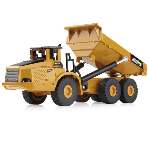 1:50 Alloy Compact Truck Model Tractor Excavator Digger Construction Kid Toy Car
