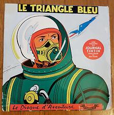 EO 33 TOURS LE DISQUE D'AVENTURE ALBERT WEINBERG + DAN COOPER : LE TRIANGLE BLEU