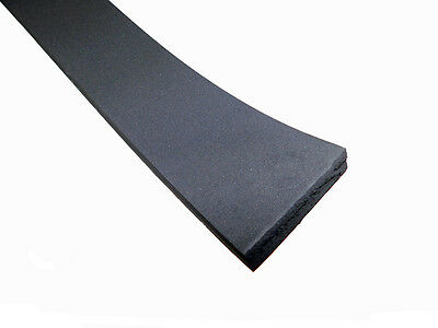 1 Piece of 1//2 x 1 Foam Rubber with Adhesive Back NFR.500-1-AB