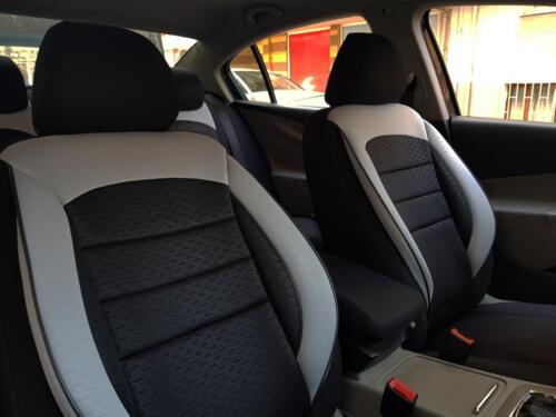 Sitzbezüge Schonbezüge für Mercedes-Benz GLC schwarz-grau V1101613 Vordersitze
