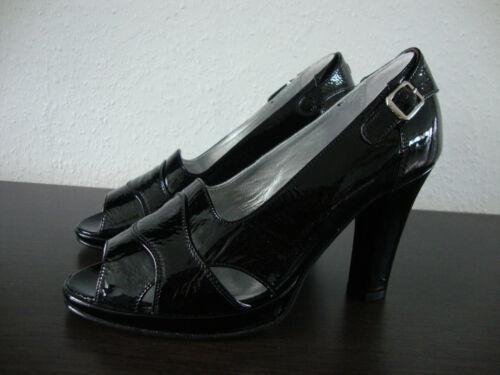 Lady 36 Pumps Lack Belstaff Schuhe Neu Damen Schwarz Leder Gr Shoes dXgzttwq