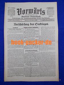 En Avant (11. Février 1916): Renforcement Du Seekriegs-afficher Le Titre D'origine
