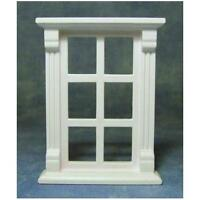 12th Scale Plastic Six Pane Dolls House Window Diy497
