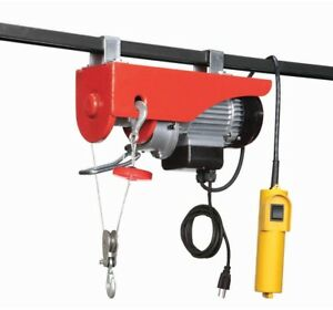 120 Volt Winch >> 440 Lb Electric Hoist With Remote Control 120 Volt Overhead Winch