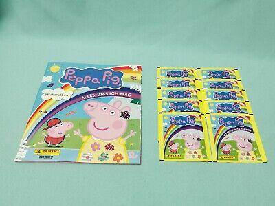 Panini sticker 137-Peppa Pig cochino en viaje alrededor del mundo