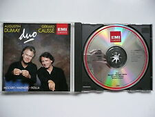 Augustin Dumay & Gerard Causse play Duos by Mozart, Handel & Rolla EMI 754575 CD