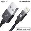 Rampow-2-m-Lightning-Cable-MFI-USB-Cable-de-charge-rapide-pour-iPhone-12-11-x-8-se-iPad miniature 1