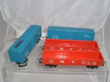 4 HO VINTAGE PLASTIC UNITED STATES WAGONS MADE IN JAPAN OLDISH SEE PICS !!!