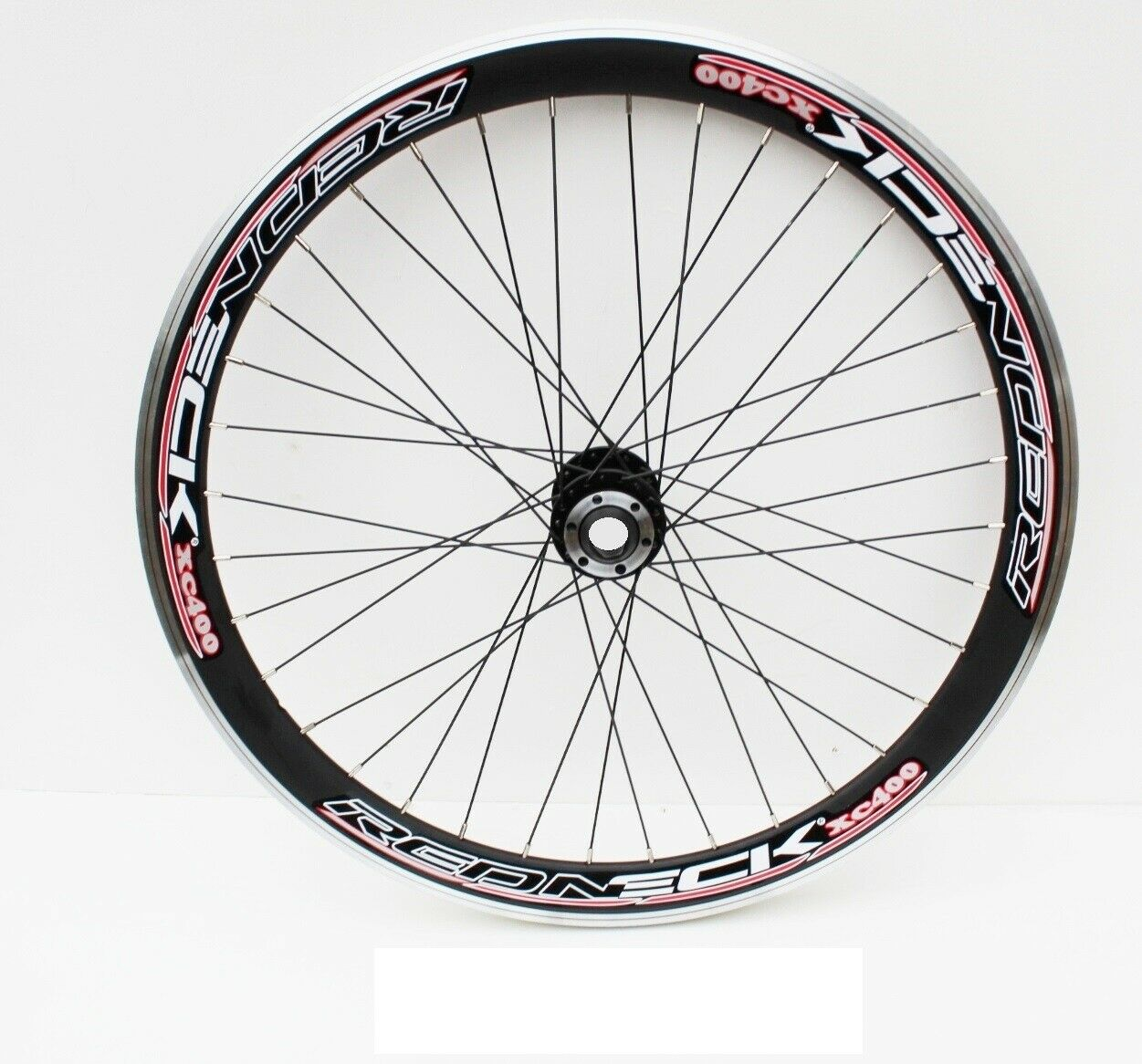 26  MTB DOWNHILL FRONT WHEEL, 20mm THROUGH AXLE TYPE, BOMBPROOF