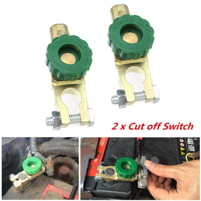 Immobiliser 12V Battery Master Shut Off Switch Eliminate Staring Drain For Ford