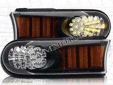 2007-2014 TOYOTA FJ CRUISER BLACK BUMPER CORNER LED SIGNAL LIGHTS