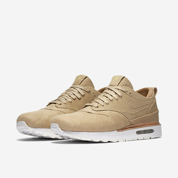 NikeLab Air Max 1 Royal QS Summit Summit Summit Weiß Linen suede wheat tan nike 847671-221 8dc763