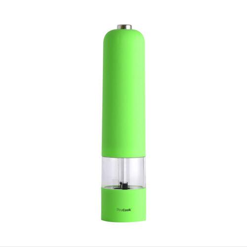 Moulin à sel ou poivre électrique Soft Touch vert pomme ProCook