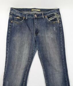 Vintage Pepe Womens Jeans 34x30 Bling Rear Pockets Small Flare   eBay 7126e8d139