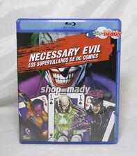 Necessary Evil Los Supervillanos de DC Comics - Blu-ray Subtitulado en Español