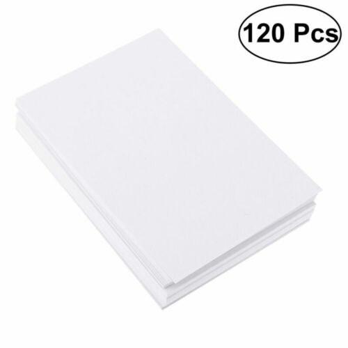 120Sheets A5 Bulk Watercolor Painting Paper Cotton Cold Press Drawing Paper