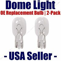 Dome Light Bulb 2-pack Oe Replacement - Fits Listed Cadillac Vehicles - 906
