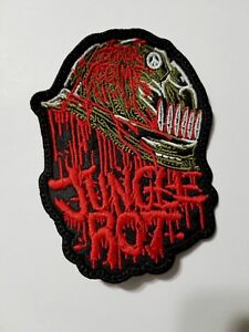 jungle rot    EMBROIDERED  PATCH