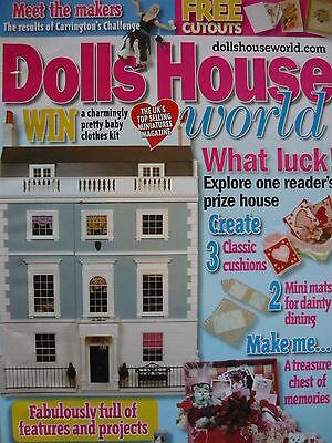 2019 Ultimo Disegno Doll House World Magazine 173-tesoro Dei Ricordi-mostra Il Titolo Originale