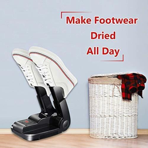 Secador De Zapatos Botas Electrico Calcetines Guantes Secado Rapido Ajustable