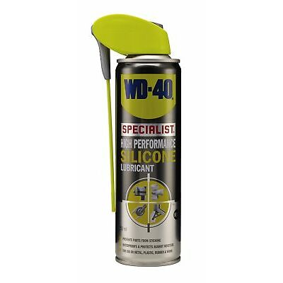 WD-40 44407 Specialist High Performance Silicone Lubricant 250ml Smart Straw