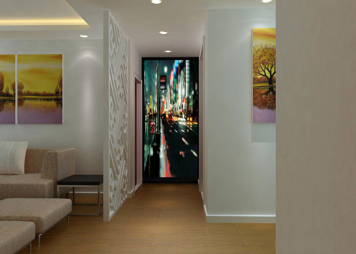 3D City Light 4149 Wallpaper Murals Wall Print Wall Mural AJ WALLPAPER UK Carly