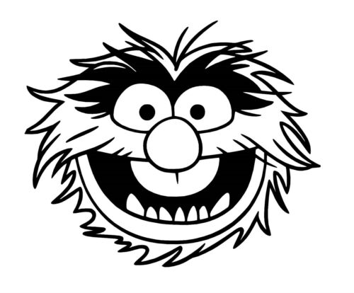 Muppet Vinyle Voiture Décalque//Autocollant