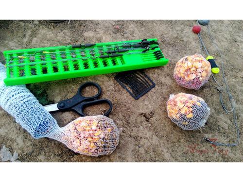 Wide 42mm PVA Mesh Refill Carp Fishing Rig Tackle Boilie Bait Bag Feeder Stock