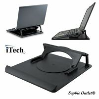 Laptop Notebook Stand Adjustable 360� Swivel Base Desk Table Cooling Tray Holder
